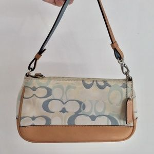 Coach Light Blue Handbag